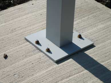 "1/2"" x 2-3/4"" zinc plated thunderstud - concrete - steel plate"