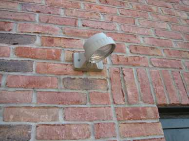 "1/4"" x 2-3/4"" hex CONFAST - brick - light fixture"