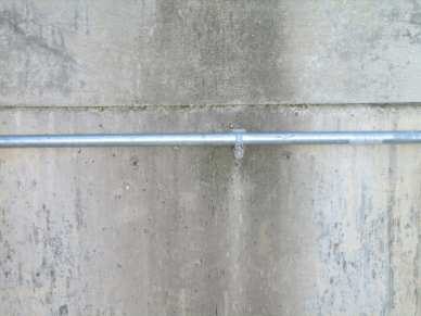 "5/16"" x 2-3/4"" zinc plated wedge anchors - concrete - conduit strap"