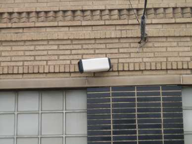 "5/16"" lag shield short - brick - security camera"