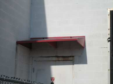 "3/4"" lag shield short - block - door awning"