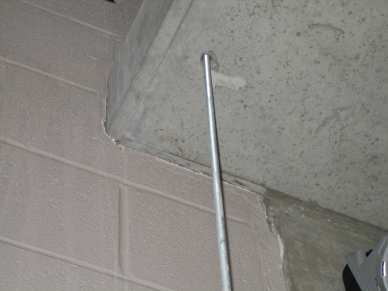 "3/4"" 304 stainless steel drop in anchor - concrete -  threaded rod"