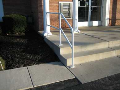 "3/8"" x 3-1/2"" hot dipped galvanized thunderstud - concrete - stair railing"